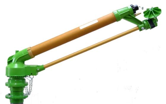 DuCaR Green 150 long throw irrigation sprinkler
