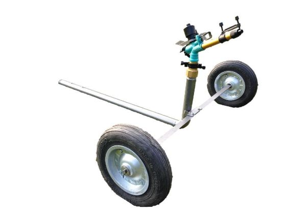 DuCaR B25 impact sprinkler with wheeled cart