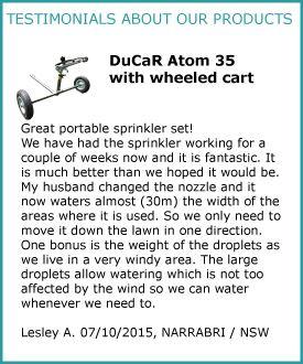 Ducar Atom 35 with cart Feedback