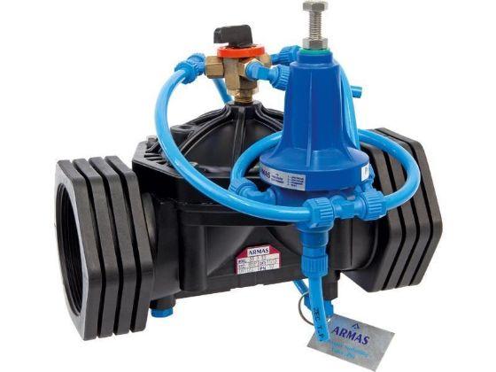 Armas plastic quick pressure relief control valve