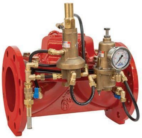 Pressure Reducing and Flow Rate Control Valve 600 series