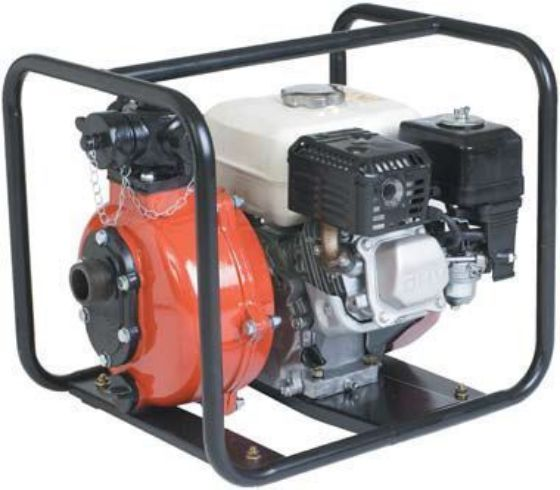 Twin impeller Honda engine powered pump
