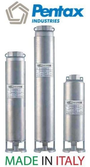 Pentax Submersible Multistage Pumps 50 Hz