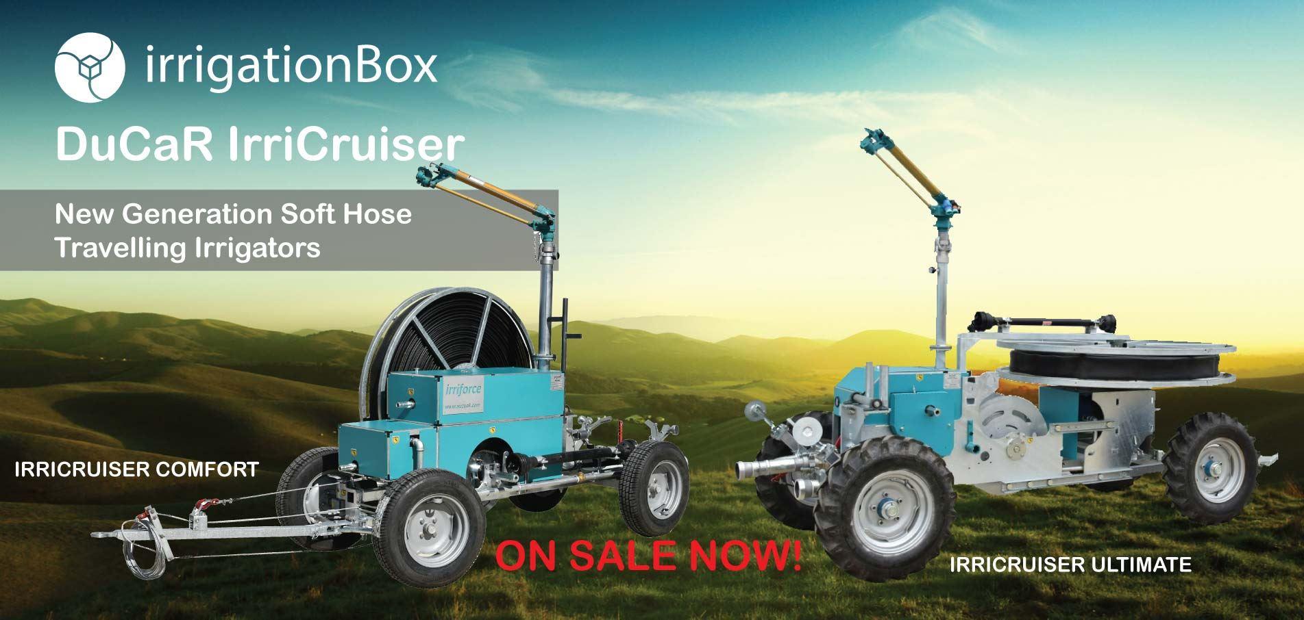 DuCaR IrriCruiser Soft Hose Travelling Irrigators at Best Prices