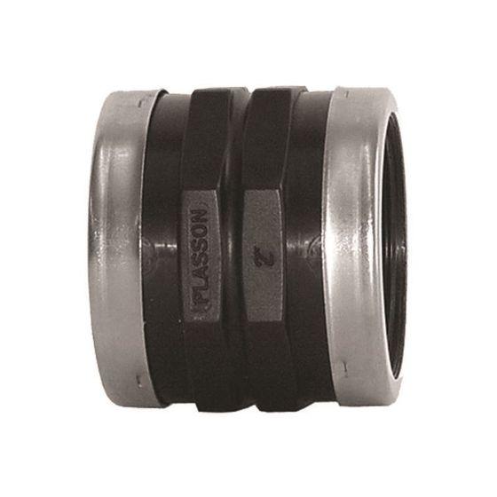 Plasson 5011 Threaded Socket (Stainless Steel Reinforced)