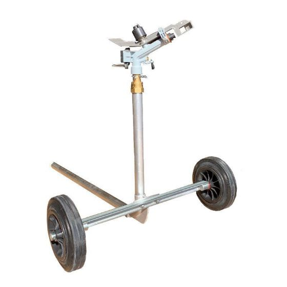 DuCaR Atom 22 Sprinkler with heavy duty wheeled cart