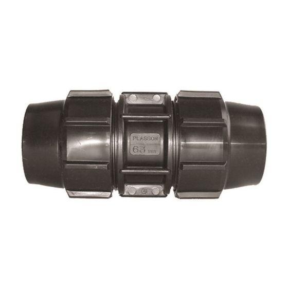 Plasson 7010 Metric Coupling